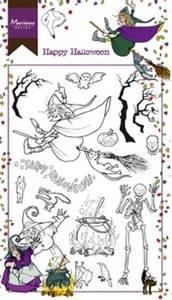 Bilde av Marianne Design - HT1626 - Clearstamp - Hetty's Happy Halloween