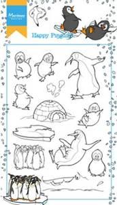 Bilde av Marianne Design - HT1628 - Clearstamp - Hetty's Happy Pinguins