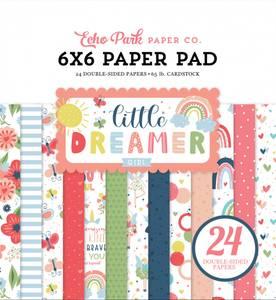 Bilde av Echo Park - Little Dreamer Girl - 6x6 Paper Pad