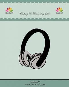 Bilde av Dixi Craft - Dies - MDL039 - Headphones