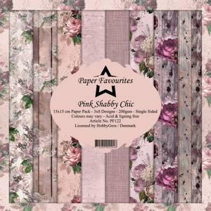 Bilde av Paper Favourites - 6x6 Paper Pad - PF122 - Pink Shabby Chic