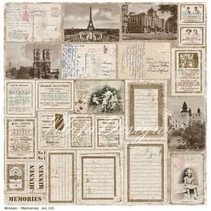 Bilde av Maja Design - 533 - Vintage Summer Basics - Minnen ~ Memories