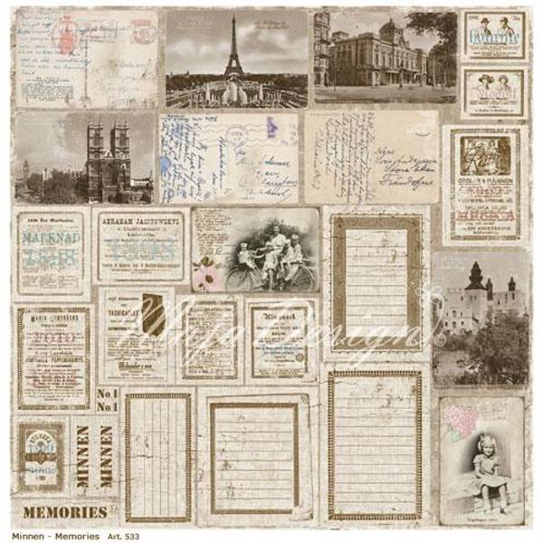 Maja Design - 533 - Vintage Summer Basics - Minnen ~ Memories