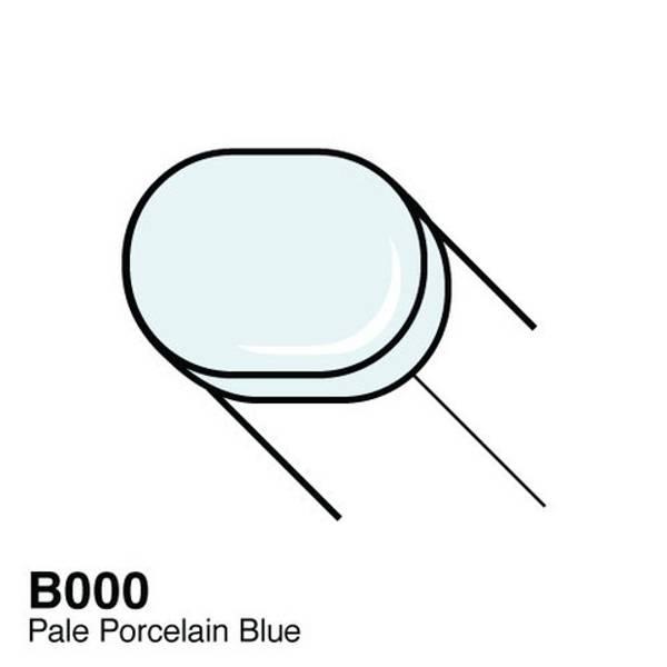 Copic - Sketch Marker - B000 - PALE PORCELAIN BLUE