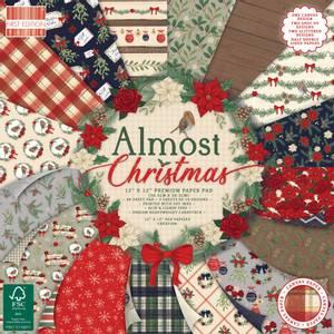 Bilde av First Edition - 233 - 12x12 Paper Pad - Almost Christmas