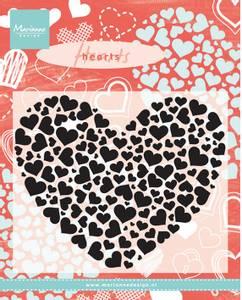 Bilde av Marianne Design - CS0951 - Clearstamp - Heart XL