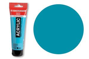 Bilde av Amsterdam - Acrylic Standard - 120ml - 522 TURQOUISE BLUE