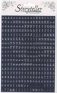 Bilde av Storyteller - Tiny Stickers - 8936 - OLD NEWSPAPER - DARK BLUE