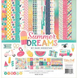 Bilde av Echo Park - 12x12 Collection Kit - Summer Dreams