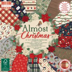 Bilde av First Edition - 235 - 6x6 Paper Pad - Almost Christmas