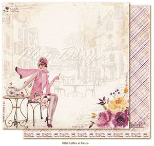 Bilde av Maja Design - 1068 - Little street café - Coffee al fresco