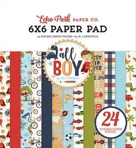 Bilde av Echo Park - All Boy - 6x6 Paper Pad