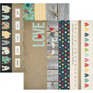 Bilde av SIMPLE STORIES - 3814 - HOMESPUN - ELEMENTS 2X12 BORDERS 4X12 TI