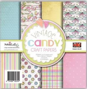 Bilde av Polkadoodles - 6x6 Paper Pack - Vintage Candy