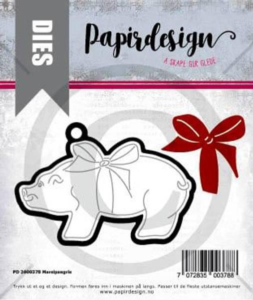 Papirdesign Dies PD2000378  - Marsipangris