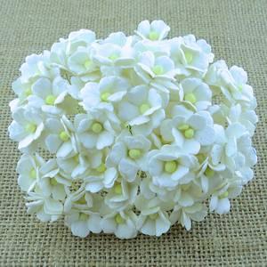 Bilde av Flowers - Sweetheart Blossom - SAA-198 - White - 100stk