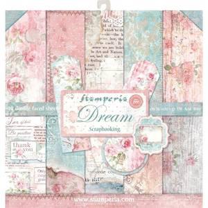Bilde av Stamperia - 12x12 Paper Pack - 27 - Dream