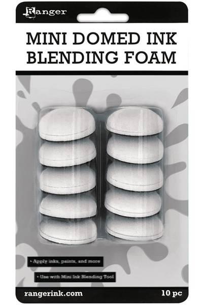 Ranger - Inkssentials - Mini Domed Ink Blending Foam - 10 stk