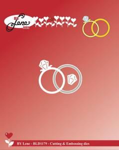 Bilde av By Lene - Dies - BLD1179 - Wedding Rings