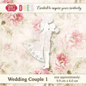 Bilde av Craft & You - Dies - CW018 - Wedding Couple 1