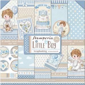 Bilde av Stamperia - 12x12 Paper Pack - 68 - Little Boy