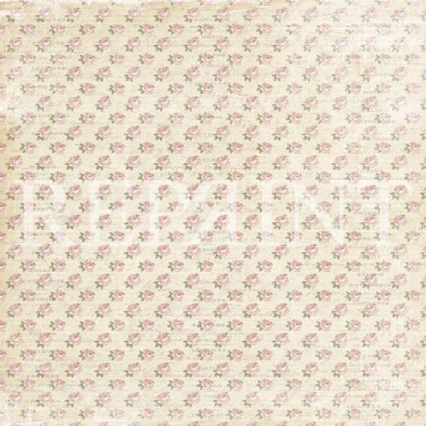 Reprint - 12x12 - RP0322 - Music & Roses - Summer
