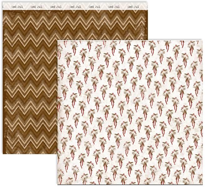 Papirdesign PD14977 - Stille natt - Juleklokker