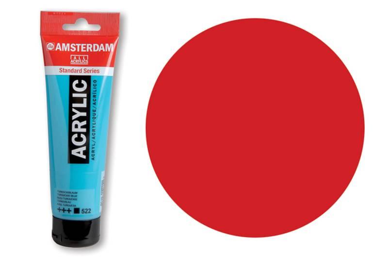 Amsterdam - Acrylic Standard - 120ml - 399 NAPTHOL RED DEEP