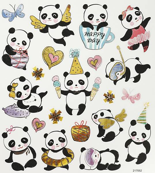 Creotime - Stickers - 27196 - Pandaer