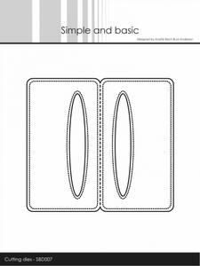 Bilde av Simple and basic - Dies - SBD007 - Pierced Bag Topper