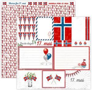 Bilde av Papirdesign PD15038 - Hell Og Lykke - Nasjonaldag