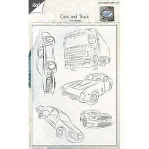Bilde av Joy Crafts - Clear stamps - 6410-0440 - Cars and Truck