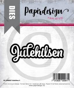Bilde av Papirdesign Dies PD1900067 - Julehilsen 4