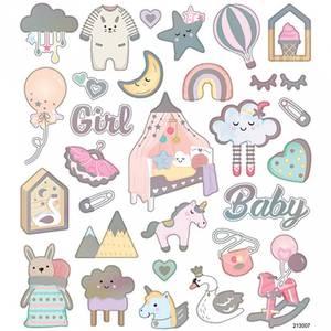 Bilde av Creotime - Stickers - 28884 - Baby jente