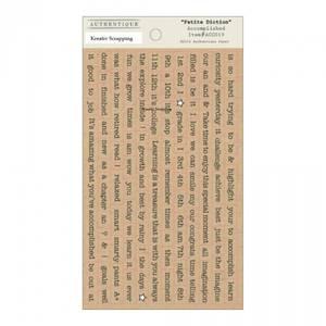 Bilde av Authentique - Stickers - Petite Diction - ACC019 - ACCOMPLISHED