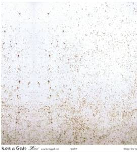Bilde av Kort & Godt - Mønsterpapir 106686 - Rust 1166