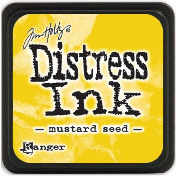 Distress - Mini Ink Pad - Mustard Seed