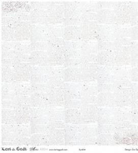 Bilde av Kort & Godt - Mønsterpapir 106683 - Avis krem 1135