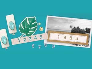 Bilde av We R Memory Keepers - 660516 - Number & Symbol Punch Board