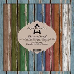 Bilde av Paper Favourites - 6x6 Paper Pad - PF165 - Distressed Wood