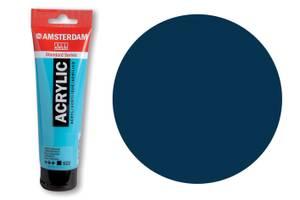 Bilde av Amsterdam - Acrylic Standard - 120ml - 566 PRUSSIAN BLUE