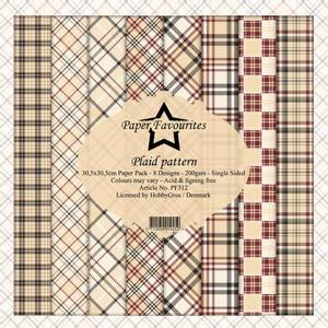 Bilde av Paper Favourites - 12x12 Paper Pack - PF312 - Plaid Patterns