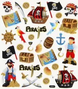 Bilde av Creotime - Stickers - 28911 - Pirater