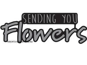 Bilde av Marianne Design - Craftables dies - CR1310 - SENDING YOU FLOWERS