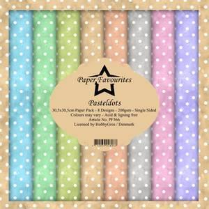 Bilde av Paper Favourites - 12x12 Paper Pack - PF366 - Pastel Dots