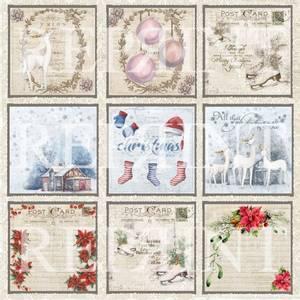 Bilde av Reprint - 12x12 - RP0290 - Christmas Time - Tags 1