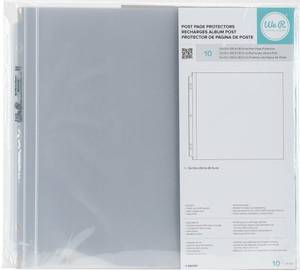 Bilde av We R - 12x12 Post Page Protectors - Full Page - 10 stk