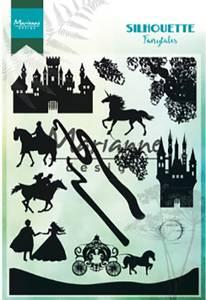 Bilde av Marianne Design - CS1020 - Clearstamp - Silhouette Fairytales