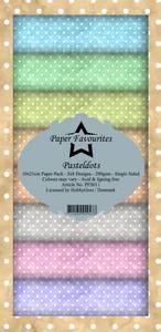 Bilde av Paper Favourites - SlimLine Paper Pad - PFS011 - Pastel Dots