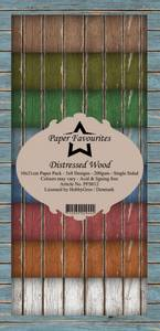 Bilde av Paper Favourites - SlimLine Paper Pad - PFS012 - Distressed Wood